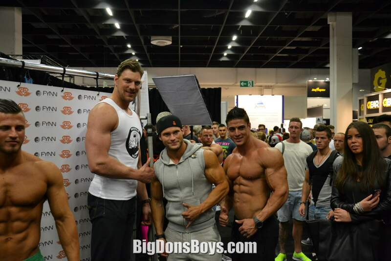 Tall bodybuilder Olivier Richters Gallery Page 2