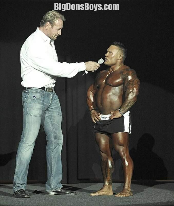 Image result for short bodybuilder