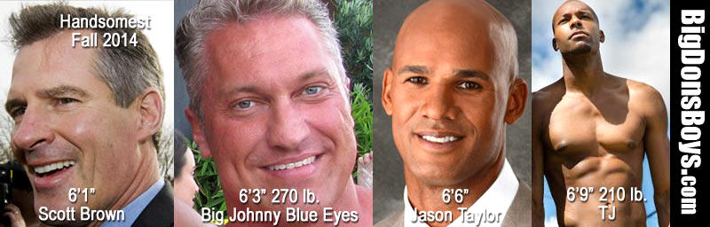big johnny blue eyes male models politician scott brown tj pettaway jason taylor headshots