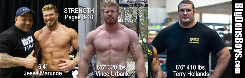 strongmen vince urbank terry hollands jesse marunde