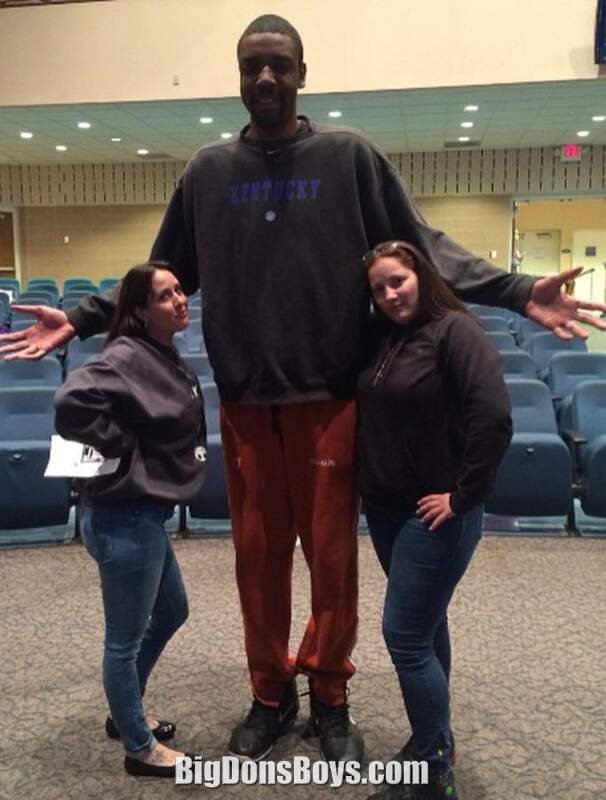 Man really tall Most Comfortable