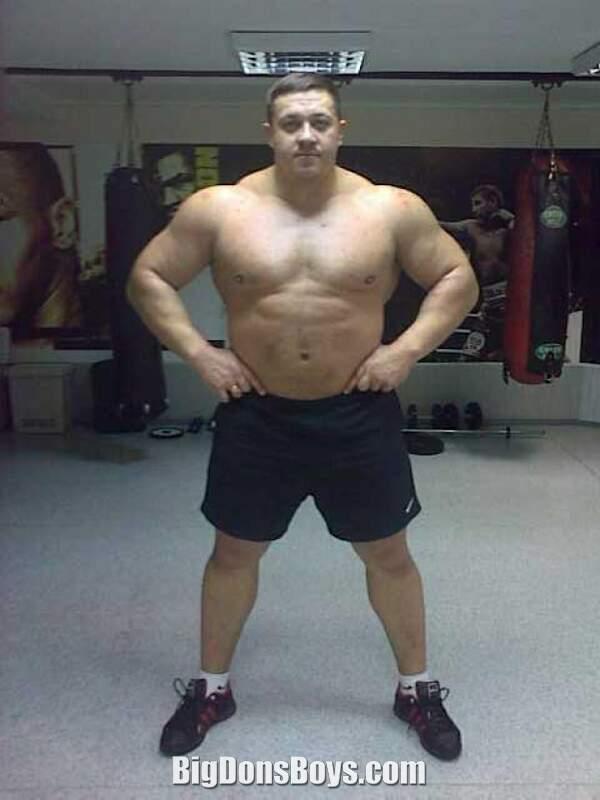 250 Pound Man 6 Foot 4